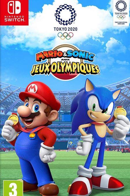 Echanger le jeu Mario & Sonic aux Jeux Olympiques - Tokyo 2020  sur Switch