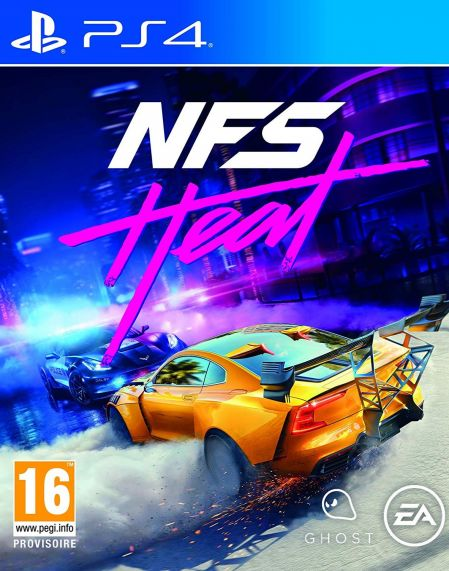 Echanger le jeu Need For Speed Heat sur PS4