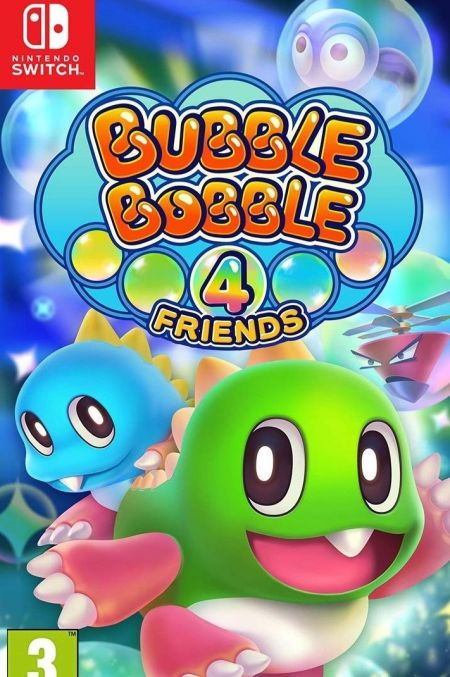 Echanger le jeu Bubble Bobble 4 Friends sur Switch
