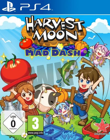 Echanger le jeu Harvest Moon Mad Dash sur PS4
