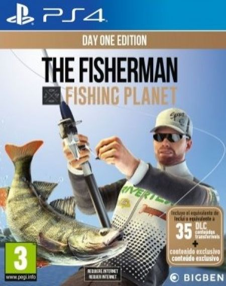 Echanger le jeu The Fisherman - Fishing Planet sur PS4