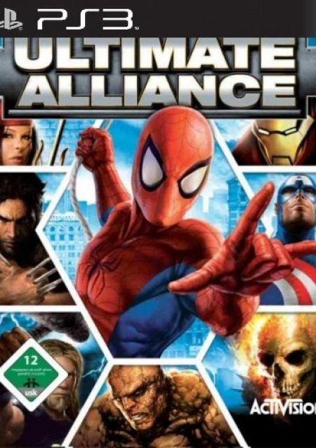 Echanger le jeu Marvel Ultimate Alliance sur PS3
