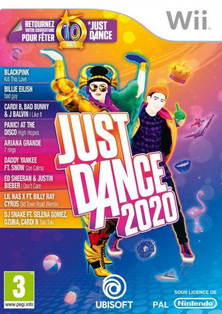 Echanger le jeu Just Dance 2020 sur Wii