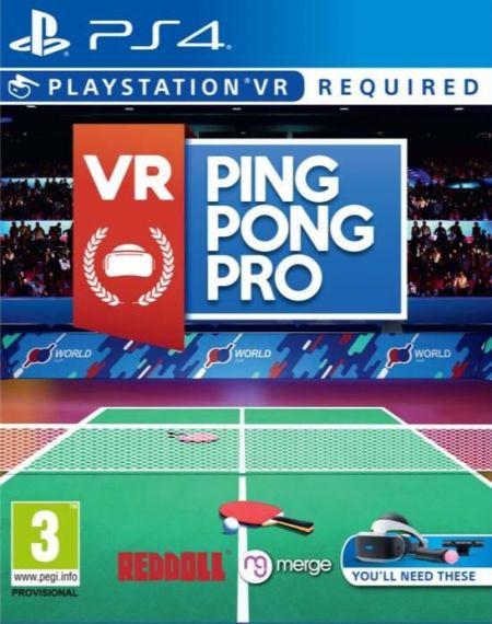 Echanger le jeu Ping Pong Pro VR (PS-VR Requis) sur PS4
