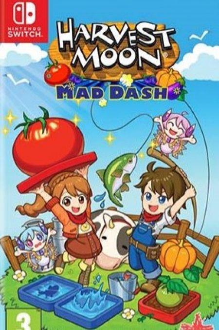 Echanger le jeu Harvest Moon Mad Dash sur Switch