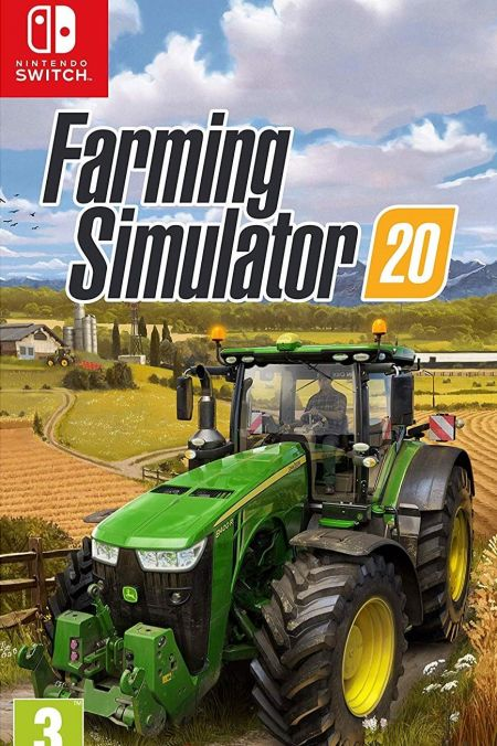 Echanger le jeu Farming Simulator 20  sur Switch