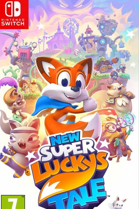 Echanger le jeu New Super Lucky's Tale sur Switch