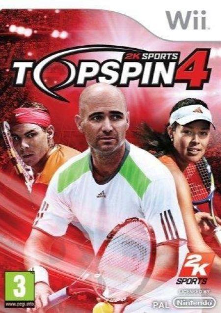 Echanger le jeu Top Spin 4 sur Wii