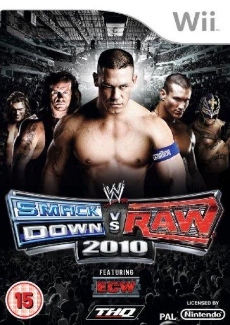 Echanger le jeu WWE Smackdown Vs Raw 2010 sur Wii