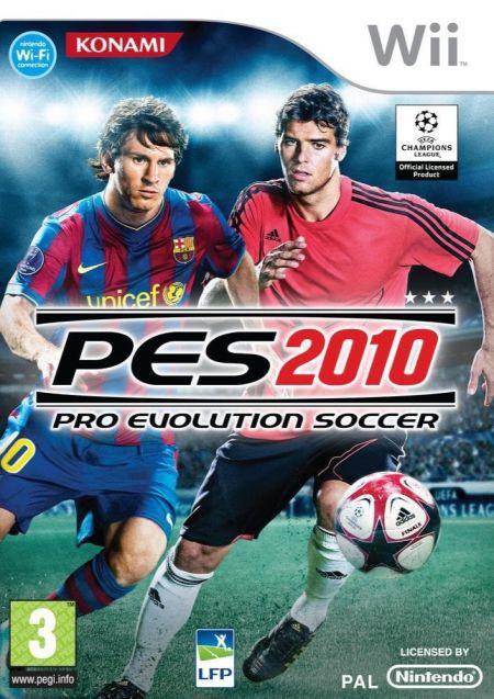 Echanger le jeu PES 2010 sur Wii