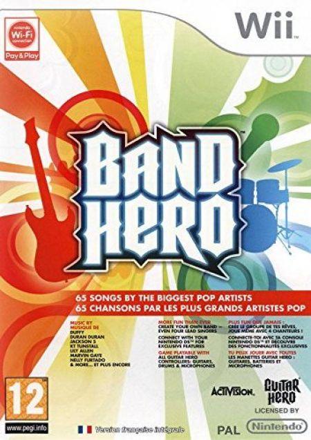 Echanger le jeu Band Hero sur Wii
