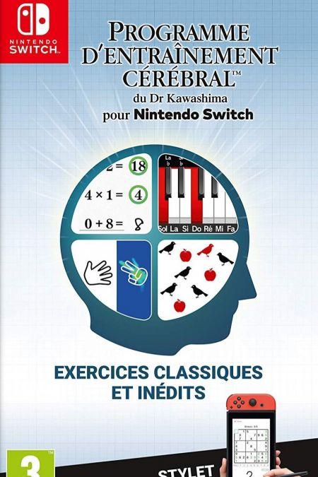 Echanger le jeu Programme d'Entrainement Cerebral du Dr Kawashima sur Switch