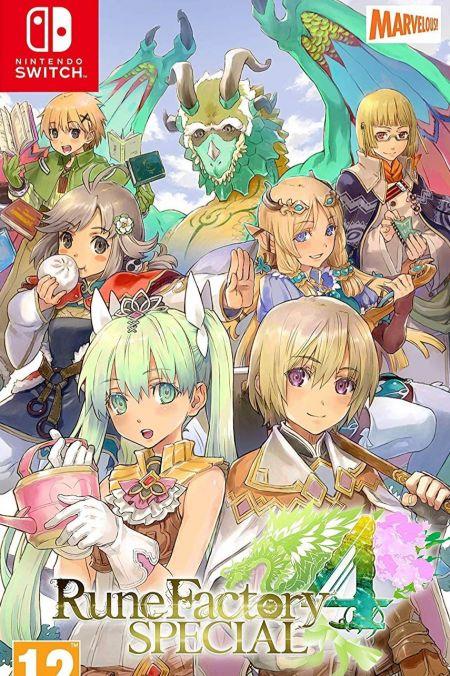 Echanger le jeu Rune Factory 4 Special sur Switch