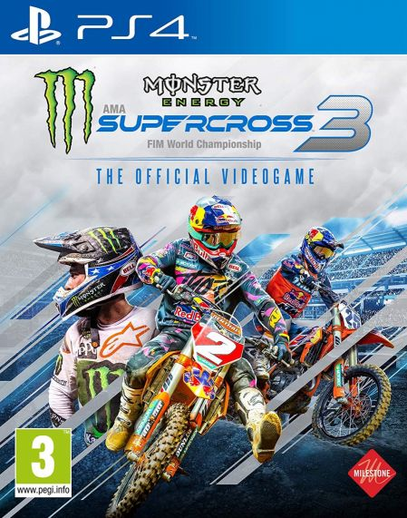 Echanger le jeu Monster Energy Supercross 3 sur PS4