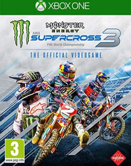 Echanger le jeu Monster Energy Supercross 3 sur Xbox One