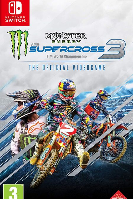 Echanger le jeu Monster Energy Supercross 3 sur Switch