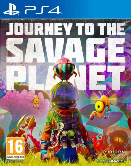 Echanger le jeu Journey To The Savage Planet sur PS4
