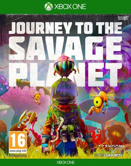 Echanger le jeu Journey To The Savage Planet sur Xbox One