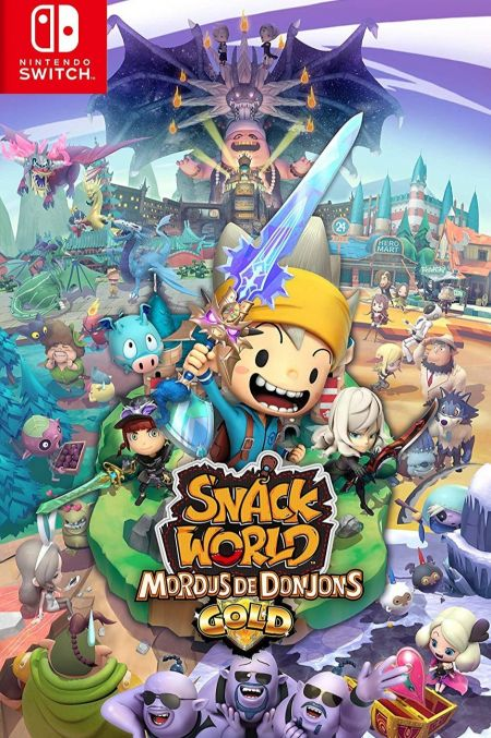 Echanger le jeu Snack World : Mordus de Donjons - Gold sur Switch