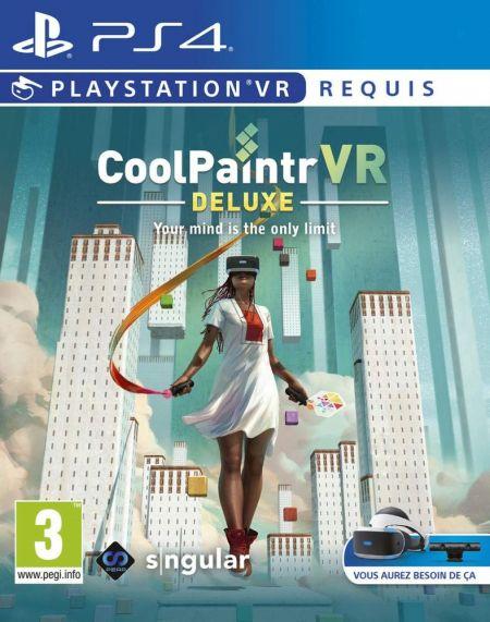 Echanger le jeu Cool Paint VR - Deluxe (PS-VR Requis) sur PS4