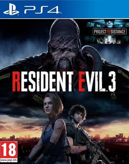 Echanger le jeu Resident Evil 3 Remake sur PS4