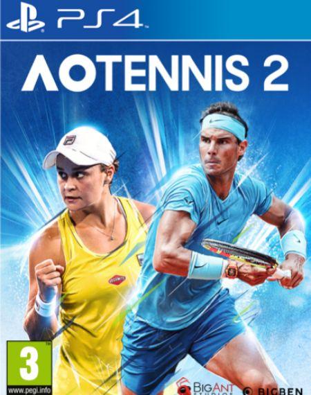 Echanger le jeu AO Tennis 2 sur PS4
