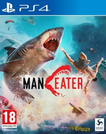 Echanger le jeu Maneater sur PS4