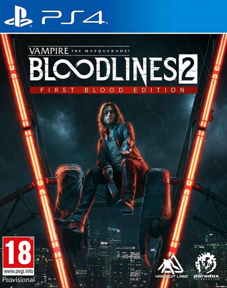 Echanger le jeu VAMPIRE: La Mascarade Bloodlines 2 - First Blood Edition  sur PS4