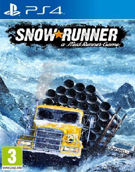 Echanger le jeu Snowrunner : A Mudrunner Game sur PS4