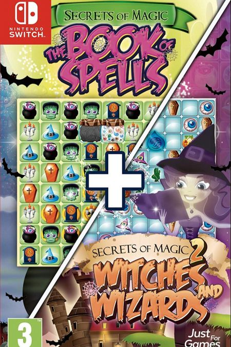 Echanger le jeu Secrets of Magic 1 & 2 sur Switch