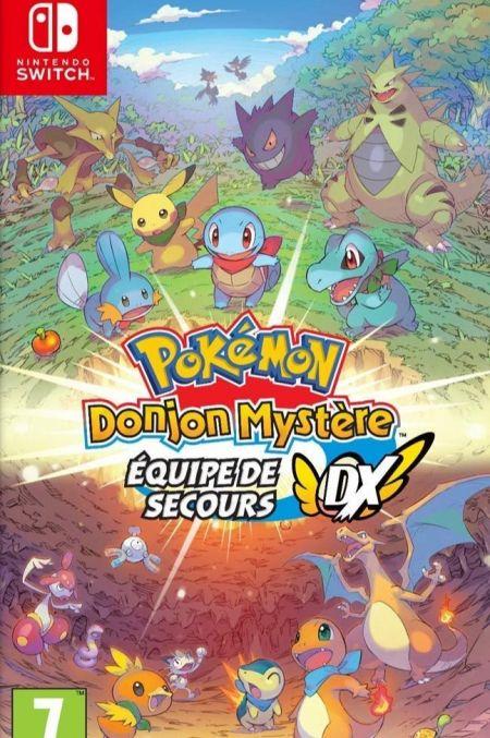 Echanger le jeu Pokemon Donjon Mystere : Equipe de secours DX  sur Switch
