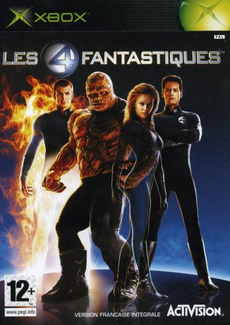 Echanger le jeu Fantastic 4 sur XBOX