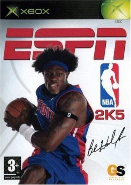 Echanger le jeu ESPN NBA 2K5 sur XBOX