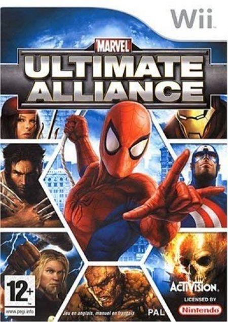 Echanger le jeu Marvel Ultimate Alliance sur Wii