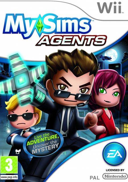Echanger le jeu MySims Agents sur Wii