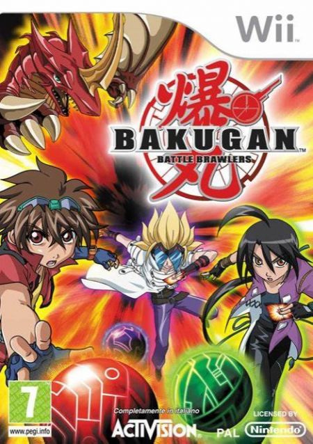 Echanger le jeu Bakugan: Battle Brawlers sur Wii