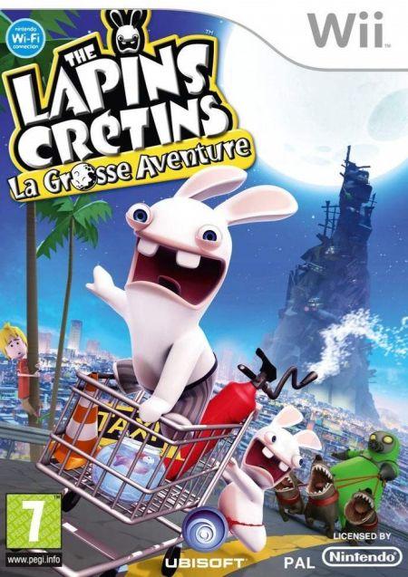 Echanger le jeu Les lapins Cretins - La Grosse Aventure sur Wii