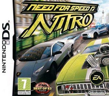 Echanger le jeu Need for Speed Nitro sur Ds