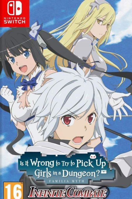 Echanger le jeu Is it Wong to try to pick up Girls in a Dungeon ? Infinite Combate sur Switch