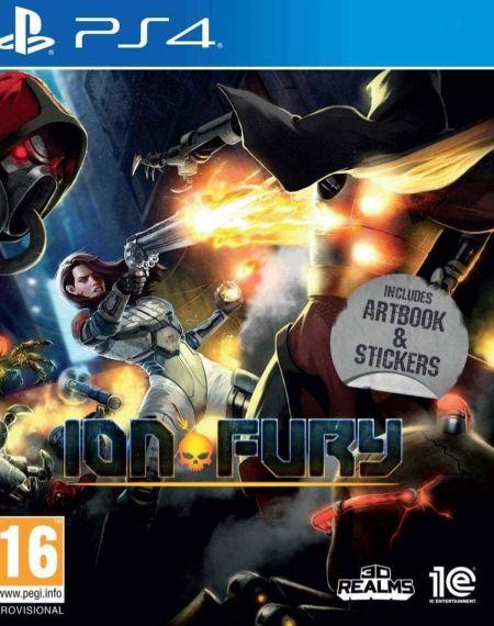 Echanger le jeu Iron Fury sur PS4