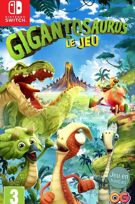 Echanger le jeu Gigantosaurus - Le Jeu sur Switch