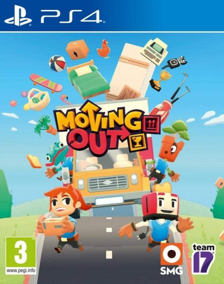 Echanger le jeu Moving Out sur PS4