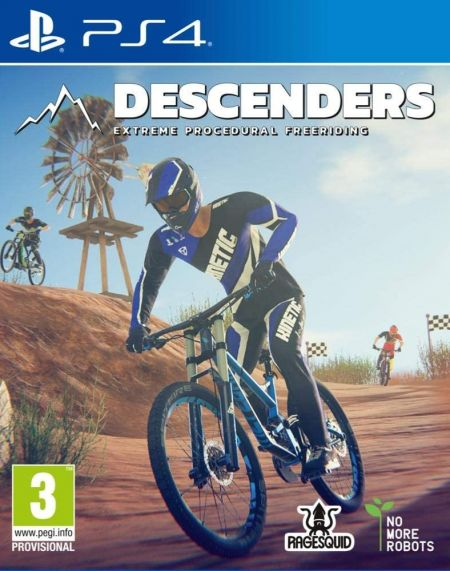 Echanger le jeu Descenders sur PS4
