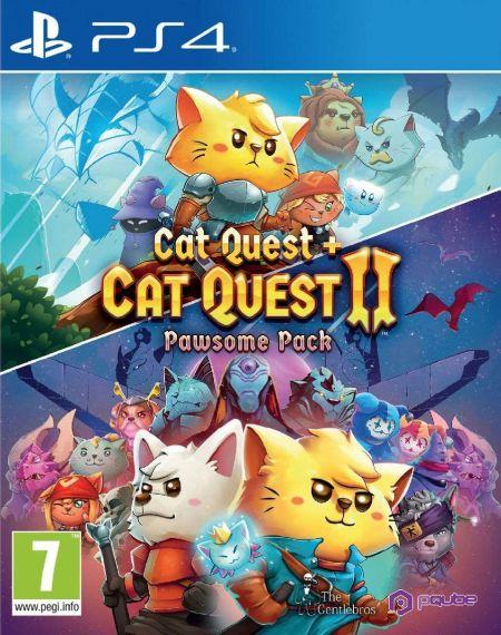 Echanger le jeu Cat Quest 1+2 Pawsome Pack sur PS4