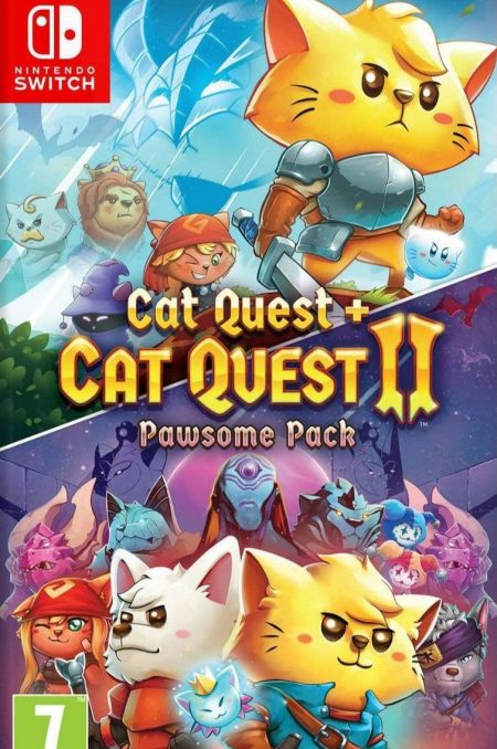Echanger le jeu Cat Quest 1+2 Pawsome Pack sur Switch