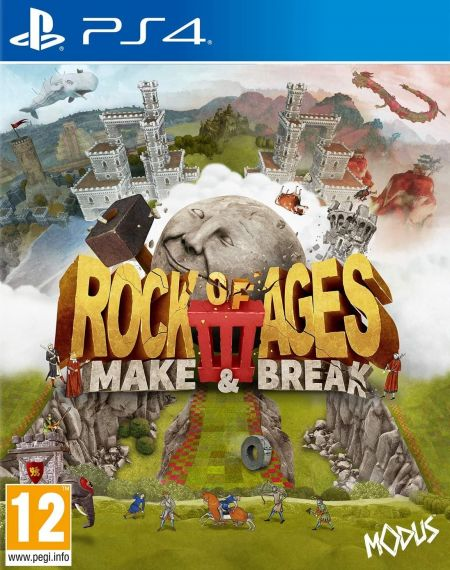Echanger le jeu Rock of Ages 3: Make & Break sur PS4
