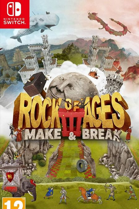 Echanger le jeu Rock of Ages 3: Make & Break sur Switch