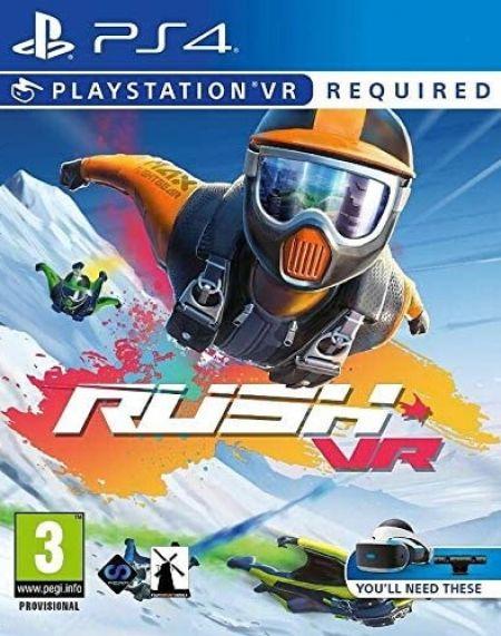 Echanger le jeu Rush VR (PS-VR Requis) sur PS4