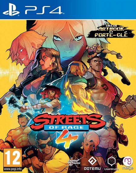 Echanger le jeu Streets of Rage 4 sur PS4