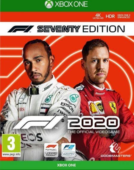 Echanger le jeu F1 2020 - Seventy Edition sur Xbox One